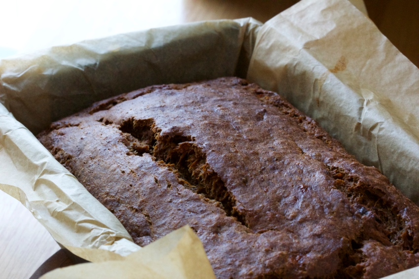 coffee chocolate banana bread