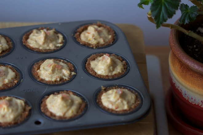 raw tartlets