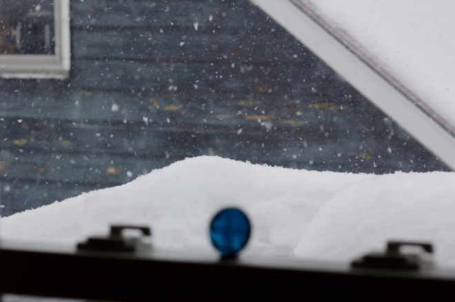 february snow in Vermont