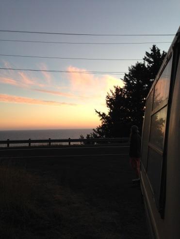 Sunset at Otter Rock, Oregon
